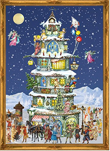 Sellmer Christmas Tower Advent Calendar from Sellmer