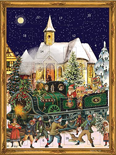 Sellmer Train Advent Calendar from Sellmer
