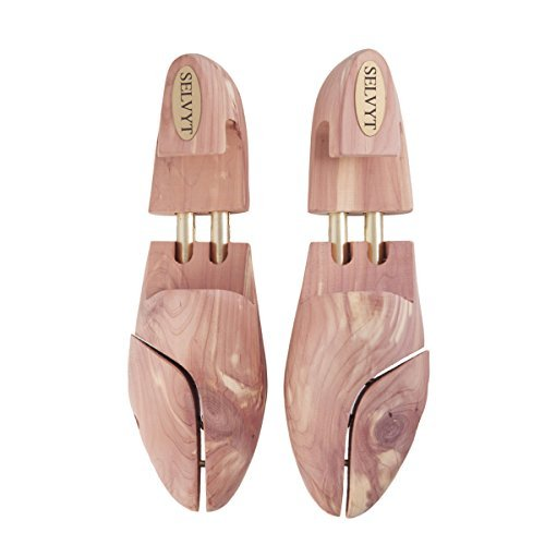Selvyt Premium Cedar Shoe Trees (41 = 7 UK) from Selvyt