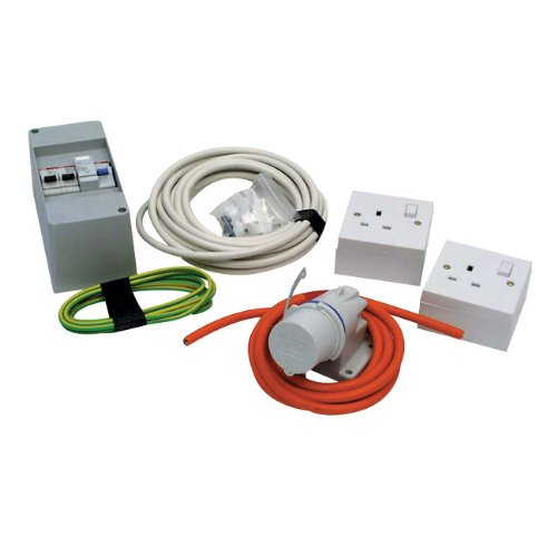 Caravan Mains Electric Diy Installation Kit from Crusader