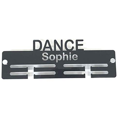 "Servewell Personalised""Dance"" Medal Hanger - Black from Servewell"