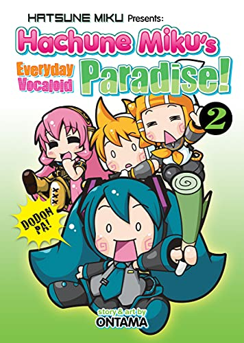 Hatsune Miku Presents: Hachune Miku's Everyday Vocaloid Paradise Vol. 2 from Seven Seas