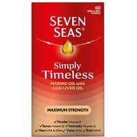 Seven Seas Simply Timeless Cod Liver Oil Maximum Strength 60 from Seven Seas