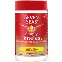 Seven Seas Simply Timeless Marine Oil With CLO One-A-Day Capsules 30 Capsules from Seven Seas
