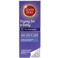 Seven Seas Trying For A Baby Pre-Conception Pills 28 from Seven Seas