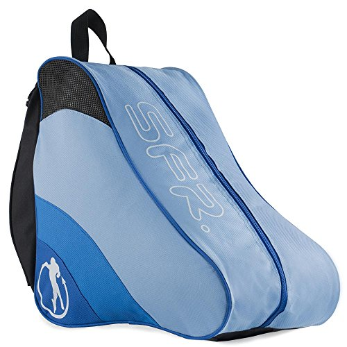 Sfr Skates Ice & Skate Bag II, Unisex Adults' Canvas and Beach Tote Bag, Blue, 24x15x45 cm (W x H L) from Sfr Skates