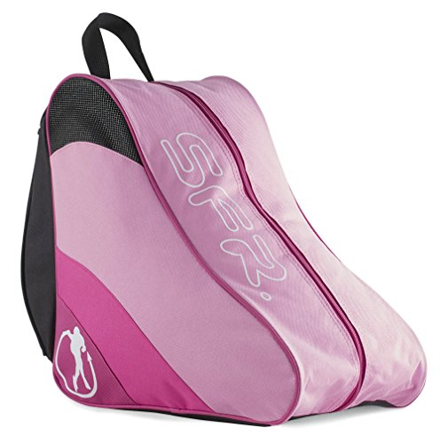 Sfr Skates Ice & Skate Bag II, Unisex Adults' Canvas and Beach Tote Bag, Pink, 24x15x45 cm (W x H L) from Sfr Skates