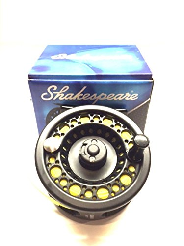 Shakespeare Fly Fishing Reel Large Arbour with Backing , Floating Line , and Leader loop fitted from Shakespeare