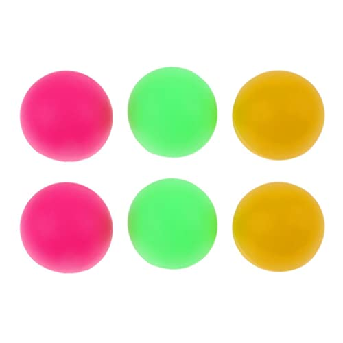 Sharplace 6 Pcs 36mm BEACH TENNIS Balls Beer Ping Pong Colorful Cat Balls Table Tennis - 2 Kinds - Colorful A from Sharplace