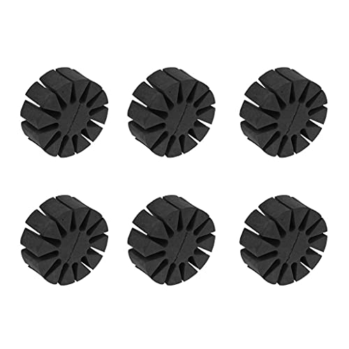 Sharplace 6 Pieces / Set Professional Black Round EVA Arrow Rack Separator Holder Quiver Outdoor Archery Shooting Tool from Sharplace