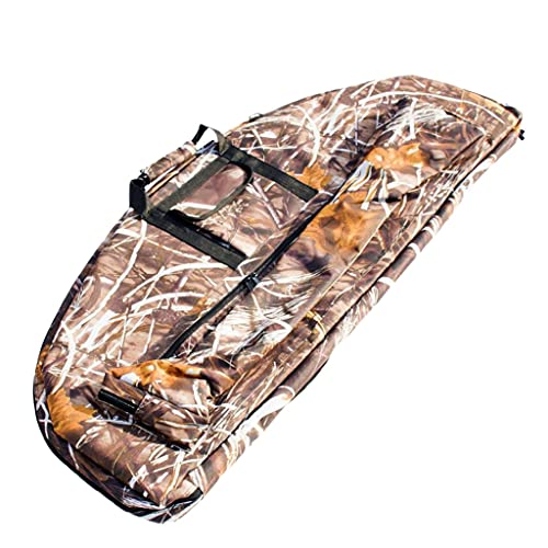 Sharplace Large Capacity Archery Canvas Compound Bow Bag Case for Storing and Protecting Bow, Arrow, Small Tools - Camouflage, 95 x 41 x 4cm from Sharplace