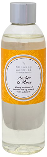 "Shearer Candles 200 ml ""Amber and Rose"" Scented Reed Diffuser Refill from Shearer Candles"