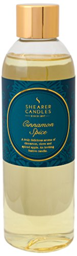 "Shearer Candles 200 ml ""Cinnamon Spice"" Scented Reed Diffuser Refill from Shearer Candles"