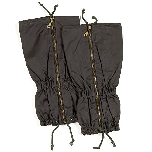 Sherwood Forest Wax Gaiters, Olive, One Size from Sherwood Forest
