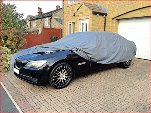 WATERPROOF CAR COVER 2001 BMW 7 SERIES E66 - HEAVY DUTY - COTTON LINED - SIZE XL from SHIELD AUTOCARE