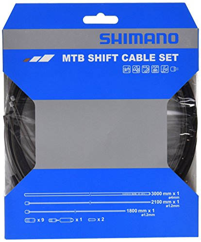 Shimano Spares MTB Gear Set Cable - Black from SHIMANO