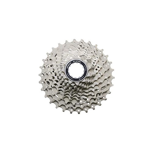 Shimano cs-r7000 Sprocket Cassette, Unisex Adult, unisex-adult, CSR700011128, grey, 11-28 dientes from SHIMANO