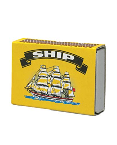 10 BOXS OF SHIP SAFETY MATCHES BRAND NEW (1 Pack of 10 Boxes) from Ship