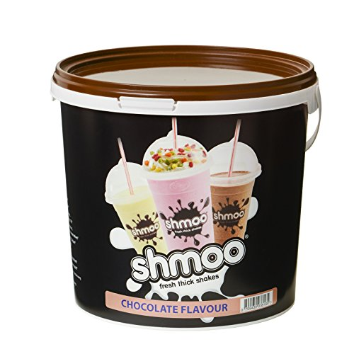 Chocolate Shmoo Milkshake Mix 1.8kg Tub with FREE Cups, Lids & Straws (Large Cup Pack) (Large Cup Pack) from Shmoo