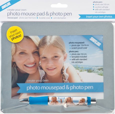 Create Your Own Photo Mouse Mat & Photo Pen from Shot2go