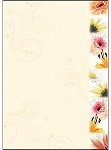 "SIGEL DP788 Writing paper ""Flowerstyle"", A4, 90 gsm, 50 sheets from Sigel"