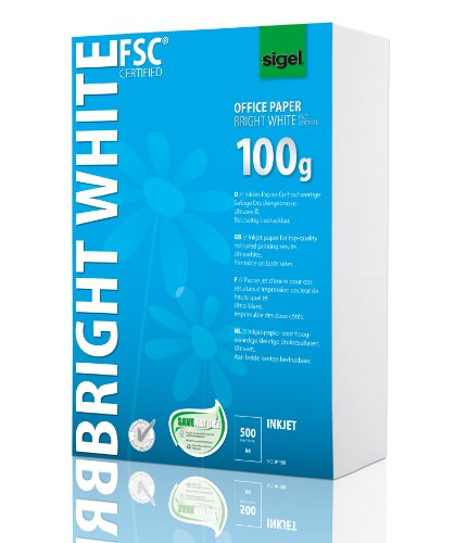 SIGEL IP150 Multipurpose Office Paper, white, A4, 100gsm, 500 Sheets from Sigel