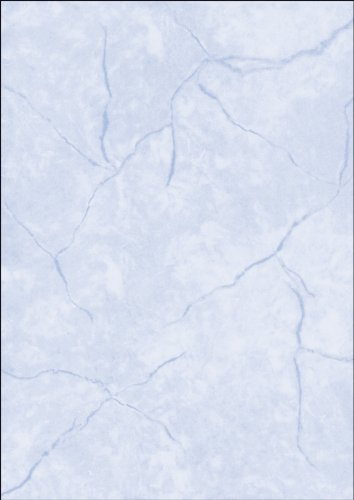 SIGEL DP649 Textured Writing Paper, Granite Motif, A4, 200 GSM, Double Sided, Blue, 50 Sheets from Sigel
