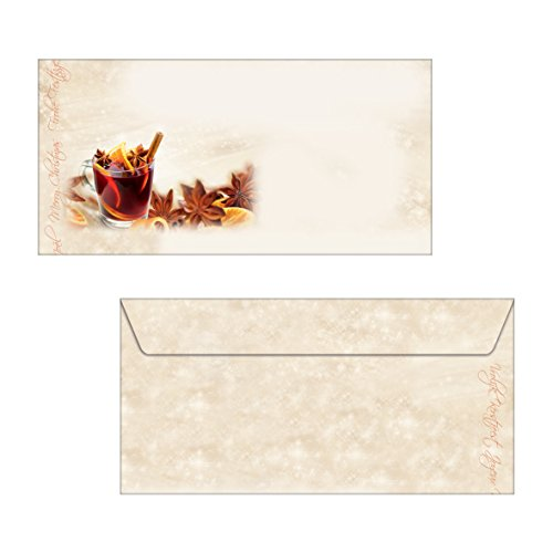 "SIGEL DU139 Christmas envelopes ""Christmas Flavour"", DL, without window, 90 gsm, 25 pcs. from Sigel"