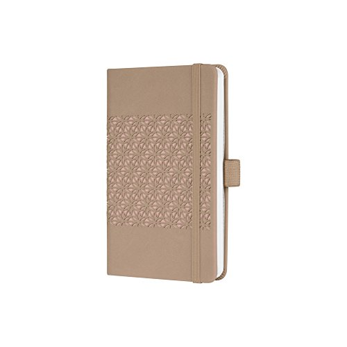 Sigel J9200 Weekly Diary Jolie 2019, Format Approx. A6, with Desert Brown Motif, Velvety-Soft Surface from Sigel