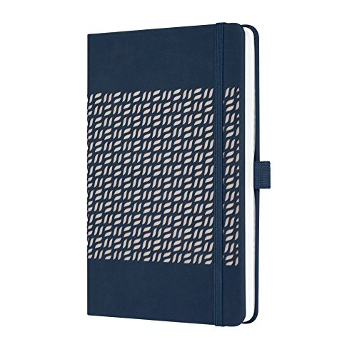 SIGEL JN205 Notebook Jolie, approx. A5, lined, hardcover, design midnight blue from Sigel