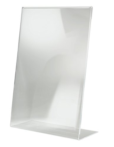SIGEL TA213 Sign Holder, slanted, for A3, single-sided presentation, acrylic, transparent, 1 pc. from Sigel