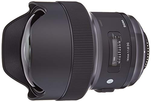 Sigma 14 mm F1.8 DG HSM Lens for Nikon Camera - Black from Sigma
