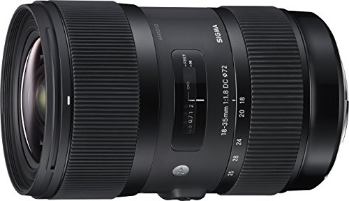 Sigma 18-35mm F1.8 DC HSM Lens for Canon - Black from Sigma