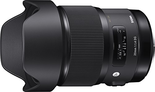 Sigma 20 mm F1.4 DG HSM Lens for Nikon Camera from Sigma