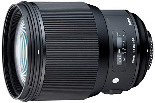 Sigma 85 mm F1.4 DG HSM Art Nikon Mount Lens - Black from Sigma