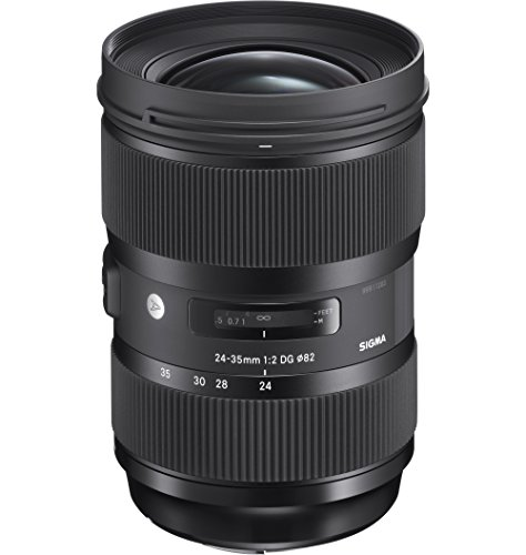 Sigma AF F2 DG HSM 24 - 35 mm Lens for Canon from Sigma