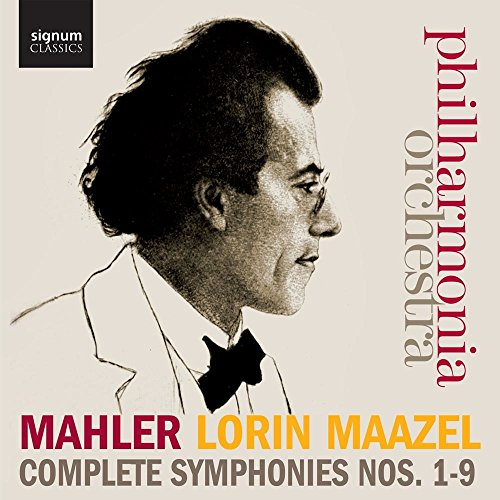Mahler: Complete Symphonies 1-9 (Philharmonia Orchestra / Lorin Maazel) from Signum Classics