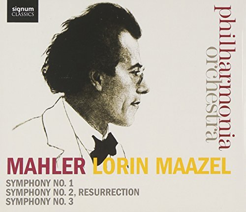 Mahler: Symphonies 1-3 by Philharmonia Orchestra from Signum Classics