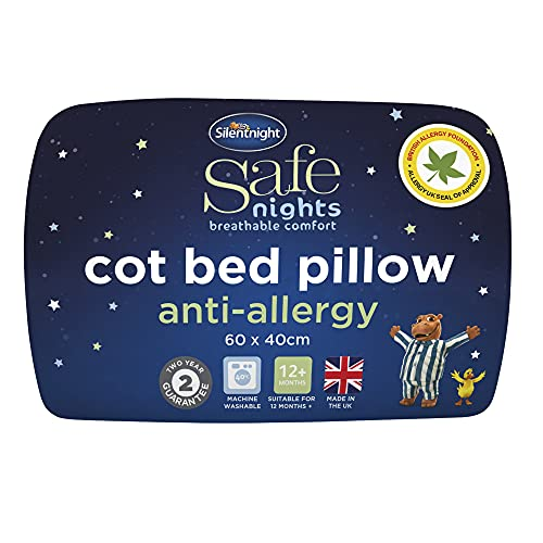 Silentnight Safe Nights Anti-Allergy Cot Bed Pillow from Silentnight Safe Nights