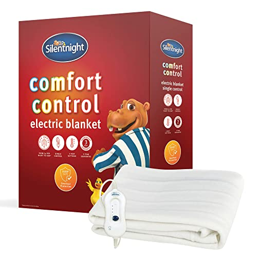 Silentnight Comfort Control Electric Blanket - Single from Silentnight