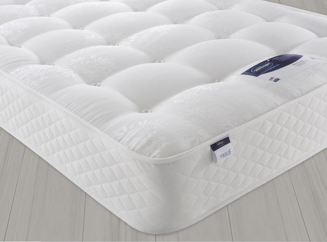 Silentnight McKenna Miracoil 3 Ortho Double Mattress. from Silentnight
