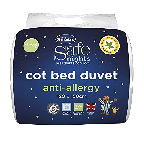 Silentnight Safe Nights Anti-Allergy Cot Bed Nursery Duvet - 4 Tog from Silentnight