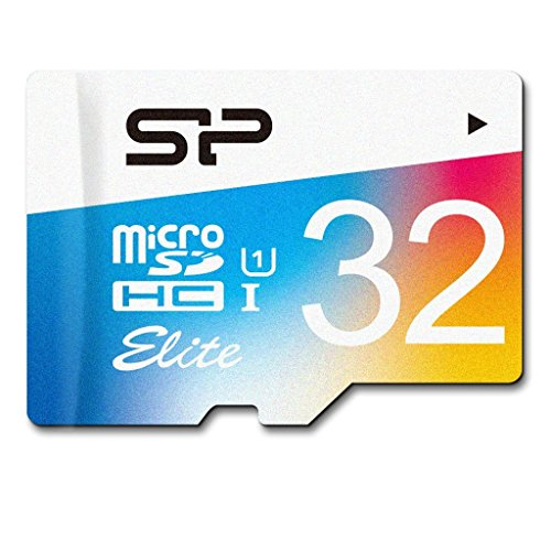 Silicon Power 32GB Elite MicroSDHC UHS-1 Class 10, Read up to 85MB/s, Memory Card with SD Adapter from Silicon Power