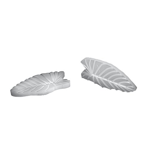 silikomart 71.932.86.0096 Modelable SLK932 Baking Mould Leaf Shaped Silicone Transparent from silikomart