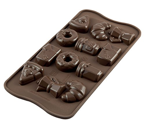 Silikomart Good Morning 197220 Chocolate Mould from silikomart