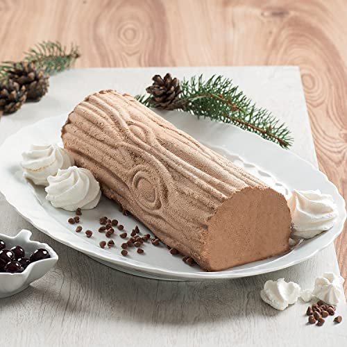 SILIKOMART KIT MAGIC WOOD Silicone Mat, Gold, 25 x 9 x 6.7 cm from silikomart