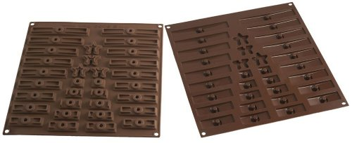 Silikomart Silicone 3D Tree Easy Chocolate Mold Set from silikomart