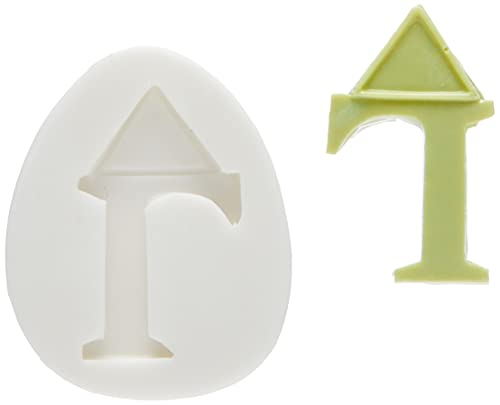 silikomart Silicone Mould Sugarflex Letter L, White from silikomart