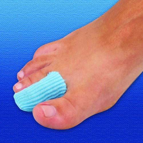 Silipos Antibacterial Gel Digital Caps | Toe & Finger Cushioned Protection from Silipos