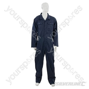 "Boilersuit Navy - M 100cm (40"") from Silverline"